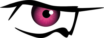Cartoon eye Royalty Free Stock Image