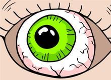 Cartoon eye Royalty Free Stock Image