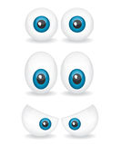 Cartoon eye illustration Stock Photos
