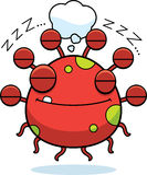 Cartoon Eyeball Monster Dreaming Stock Photos