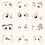 Cartoon Eyes Royalty Free Stock Photos