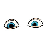 cartoon eyes Royalty Free Stock Images