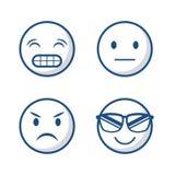 Cartoon face design Stock Image