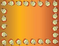 Cartoon face frame. Vector illustration of a cartoon face frame Stock Photo