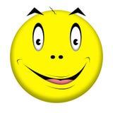 Cartoon face. Stock Images