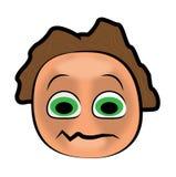 Cartoon face Stock Images