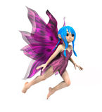 Cartoon Fairy Royalty Free Stock Images