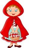 Cartoon fairy princess with robe Stock Photography