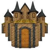 Cartoon Fairy Tale Castle Stock Photography