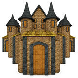 Cartoon Fairy Tale Castle royalty free illustration