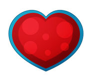 Cartoon fairy tale element - heart Stock Photos