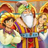 Cartoon fairy tale scene Stock Photo