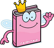 Cartoon Fairy Tale Waving Royalty Free Stock Images