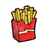 Cartoon fast food Stock Photos