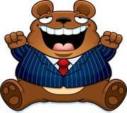 Cartoon Fat Bear Suit Stock Photos