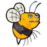 Cartoon fat bumble bee Royalty Free Stock Photos