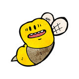 Cartoon fat bumble bee Royalty Free Stock Photo
