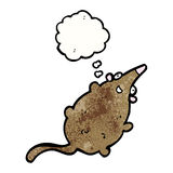 cartoon fat rat Royalty Free Stock Image