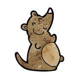 cartoon fat rat Stock Photos