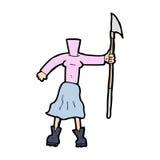 Cartoon female body (add photos or mix and match cartoons) Stock Photos
