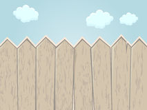 Cartoon fence Royalty Free Stock Photography