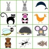 Cartoon figure Stock Images
