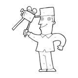 cartoon film maker Royalty Free Stock Photo