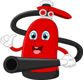 Cartoon fire extinguisher. Illustration of cartoon fire extinguisher Royalty Free Stock Image