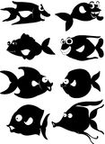 A cartoon fish Stock Images