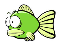 Cartoon fish Stock Photography