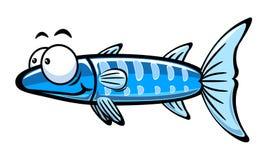 Cartoon fish. Illustration of cartoon fish on the white background,vector illustration Stock Photo