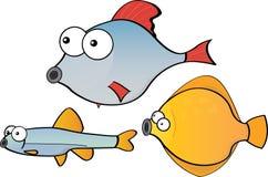Cartoon fish Stock Photos