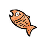 Cartoon fish Stock Photo