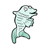 Cartoon fish Royalty Free Stock Photography