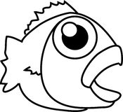 Cartoon fish Royalty Free Stock Images