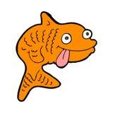Cartoon fish Royalty Free Stock Photo
