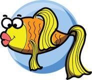 Cartoon fish,vector Stock Image