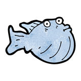 Cartoon fish Royalty Free Stock Image