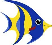 Cartoon angel fish vector illustration royalty free illustration