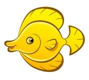 Cartoon fish zebrasoma Stock Photo
