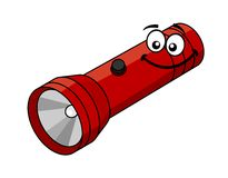 Cartoon flashlight Royalty Free Stock Photography