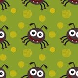 cartoon fleas seamless background design Stock Photography