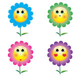 Cartoon_flower Stock Photo