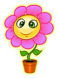 Cartoon flower Royalty Free Stock Photo