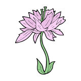 cartoon flower Stock Photography