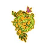 Cartoon flower  illustration Royalty Free Stock Photos