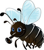 Cartoon fly Stock Photography