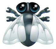 Cartoon fly bug Royalty Free Stock Image