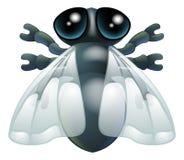 Cartoon fly bug Royalty Free Stock Image