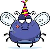 Cartoon Fly Drunk Party Stock Photo